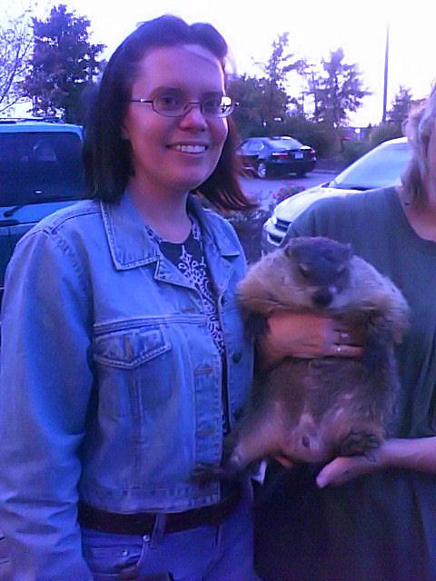 Writer, with Groundhog